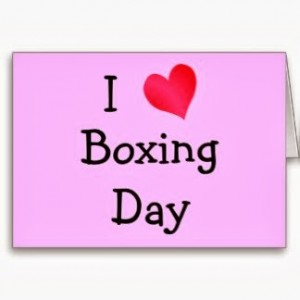 Boxing Day SMS